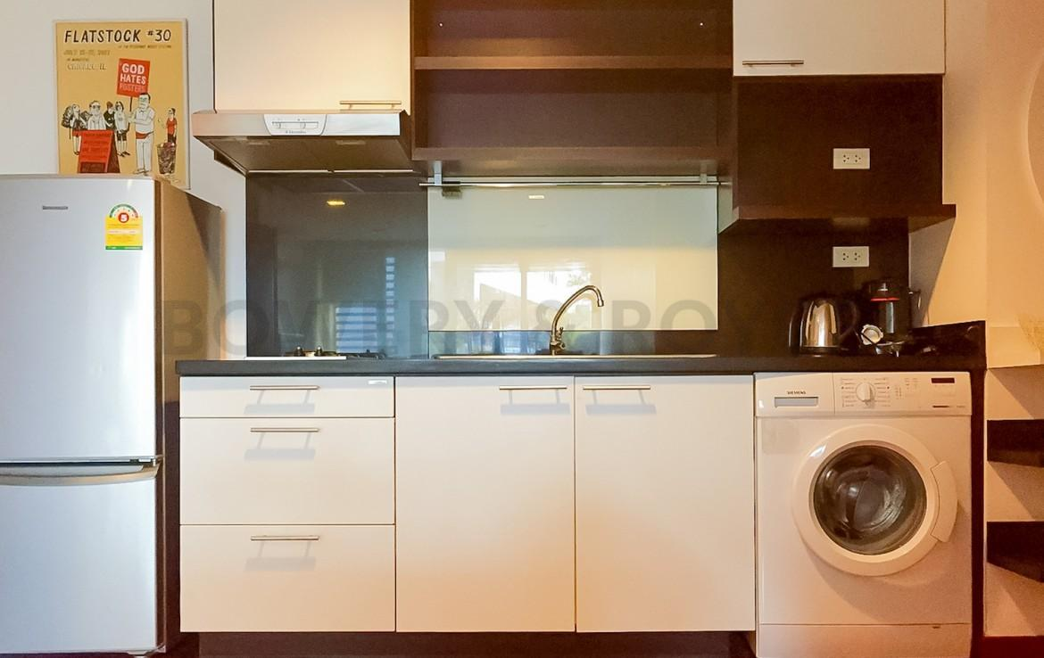 Modern Two Bedroom Condominium For Rent Thong Lor-6