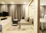 Beautiful-Modern-One-Bedroom-Condo-for-Rent-in-Asoke-3-nice-space-for-living-room