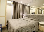Beautiful-Modern-One-Bedroom-Condo-for-Rent-in-Asoke-high-quality-bed