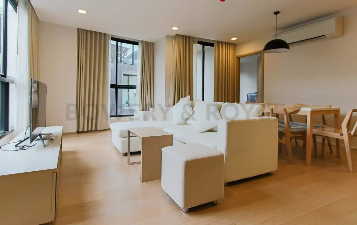 Brand New Three Bedroom Condo for Rent in Thong Lor-4