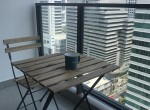 Lofty Style One Bedroom Condo for Rent in Asoke Balcony 1