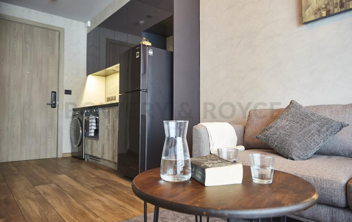 Lofty Style One Bedroom Condo for Rent in Asoke