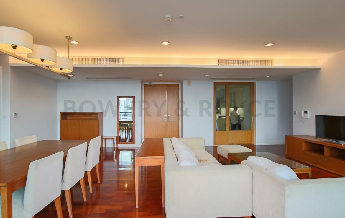 Move-in-Ready Three Bedroom Plus Office Condo for Rent in Phrom Phong