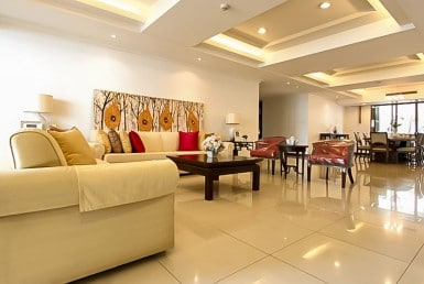 Spacious Three Bedroom Condo for Rent in Asoke