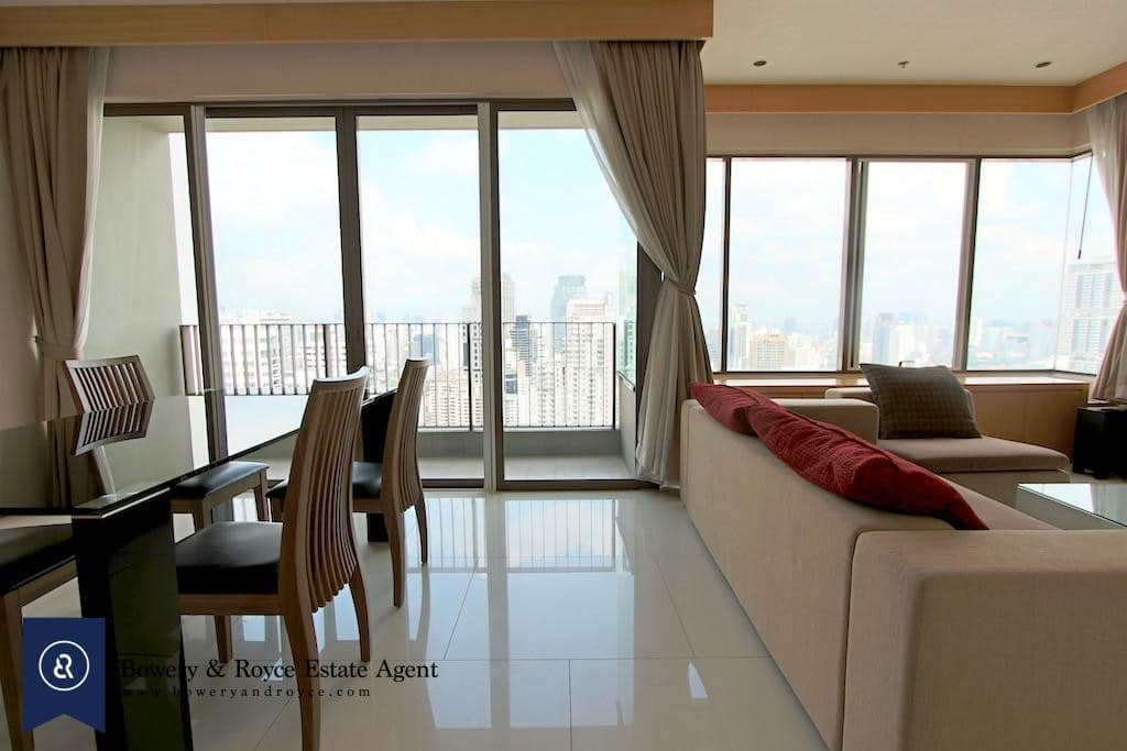 Sun-Filled Two Bedroom Condo for Rent in Phrom Phong