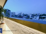 Tranquil-Lofty-Two-Bedroom-Condo-with-Private-Garden-for-Rent-in-Ekkamai-15-views-at-night