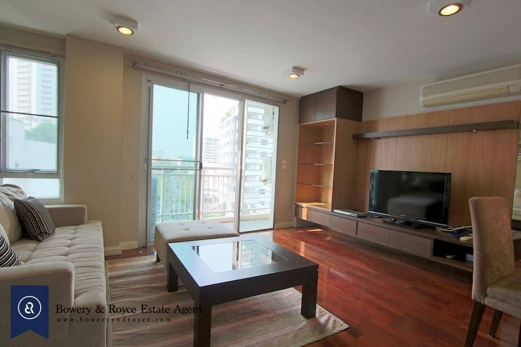 Great Location Two Bedroom Condo for Rent in Thong Lor