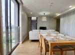 immaculate two bedroom condo for rent in Phrom Phong-4