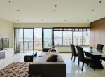 spacious three bedroom plus maid condo for rent in Phrom Phong-1