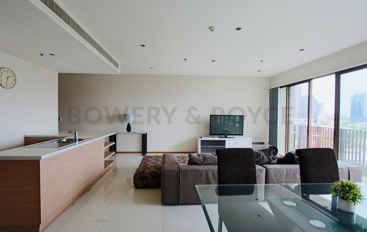 Spacious Three Bedroom Plus Maid Condo for Rent in Phrom Phong