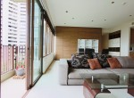 spacious three bedroom plus maid condo for rent in Phrom Phong-5