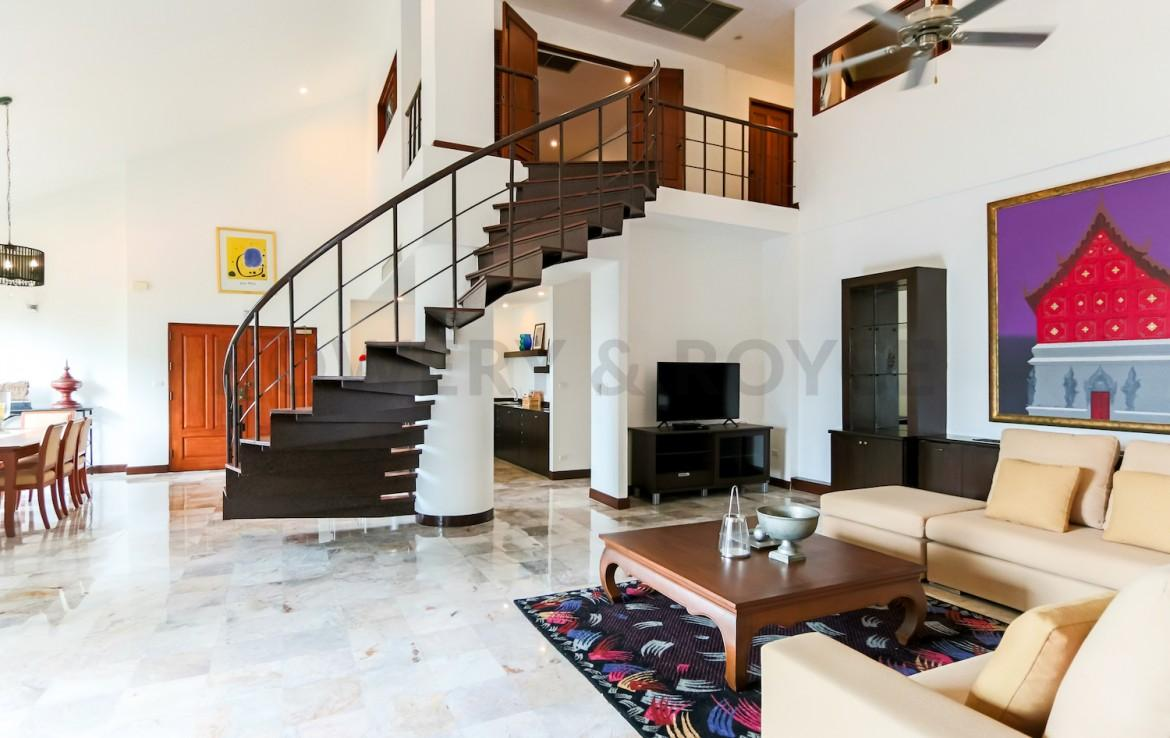 Residential Four Bedroom Duplex Apartment for Rent in Phrom Phong-3