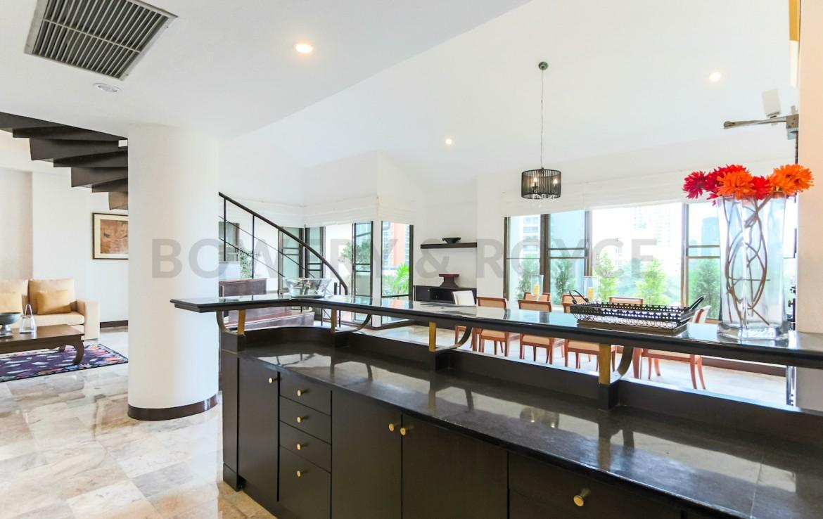 Residential Four Bedroom Duplex Apartment for Rent in Phrom Phong-8