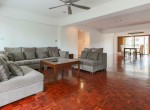 Large Three Bedroom Apartment for Rent in Phrom Phong-sofa