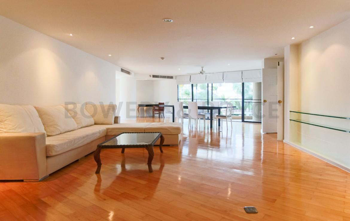 Large Three Bedroom Plus Maid Apartment for Rent in Phrom Phong-1