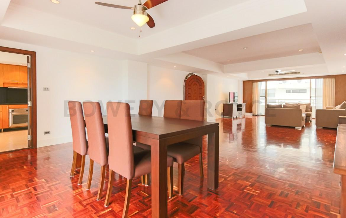 Spacious Four Bedroom Apartment for Rent in Phrom Phong-7