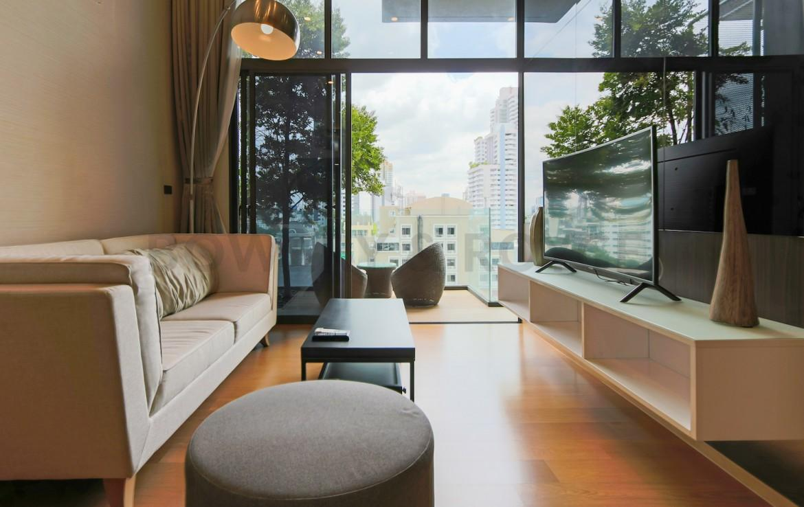 Modern Two Bedroom Duplex Condo for Rent in Phrom Phong-1