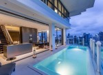Stunning Two Bedroom with Private Pool for Sale in Phrom Phong-1