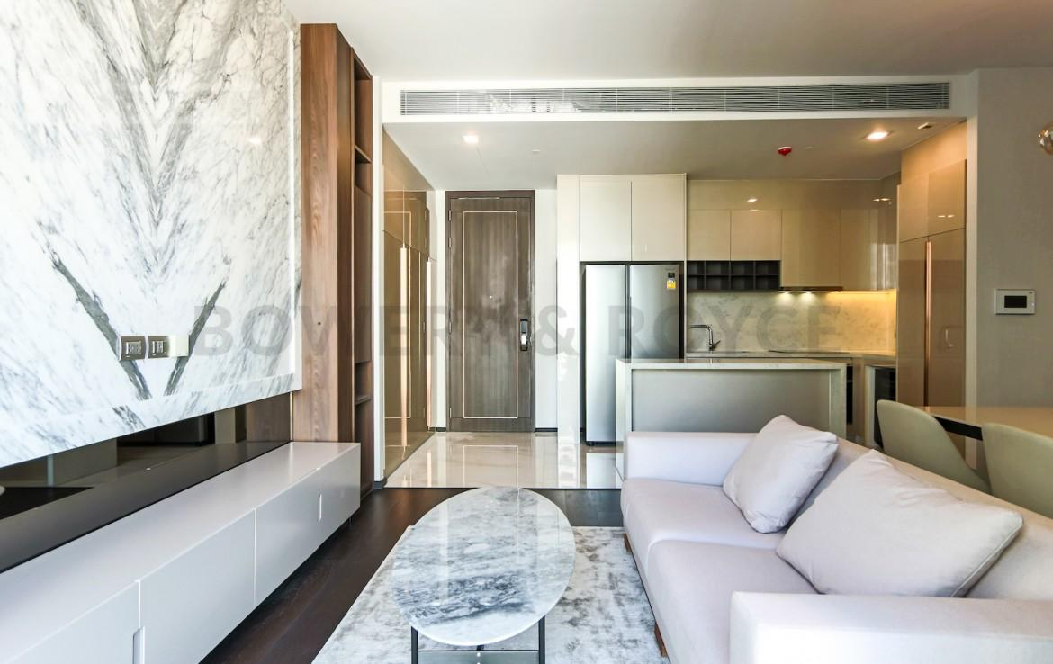 Smart and Modern Two Bedroom Condo for Rent in Thong Lor