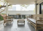 Garden views Three Bedroom House for Rent in Thong Lor-18