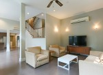 Garden views Three Bedroom House for Rent in Thong Lor-2