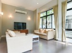 Garden views Three Bedroom House for Rent in Thong Lor-23