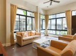 Garden views Three Bedroom House for Rent in Thong Lor-4