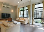 Garden views Three Bedroom House for Rent in Thong Lor-5