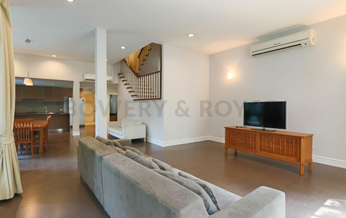 Large Family Four Bedroom House for Rent in Thong Lor